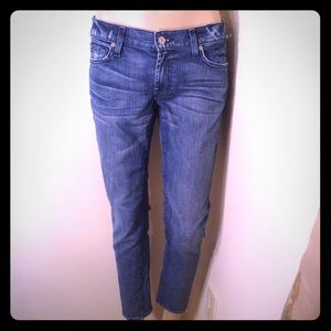 7 For all mankind Roxanne Flood Skinny jeans